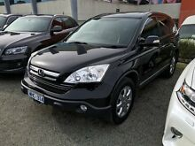 2008 Honda CR-V RE MY2007 Luxury 4WD Black 6 Speed Manual Wagon Berwick Casey Area Preview