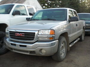 05+06 GMC Sierra 1500 4x4 5.3 x.-cab short box  ==PARTS ONLY==
