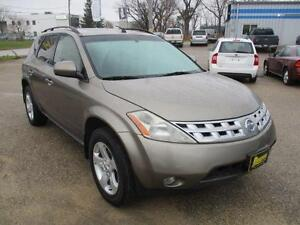 2004 NISSAN MURANO SL AWD HEATED SEATS, SUNROOF, HAS SAFET$5,950