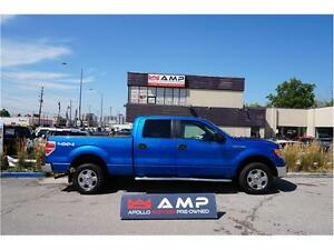 2010 Ford F-150 XLT 4x4  5.4l Crew Chrome Gorgeous Cheap price.