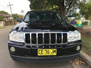 2006 Jeep Grand Cherokee WH MY2006 Limited Black 5 Speed Automatic Wagon Croydon Burwood Area Preview