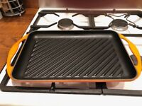 Le Creuset Large Cast Iron Griddle