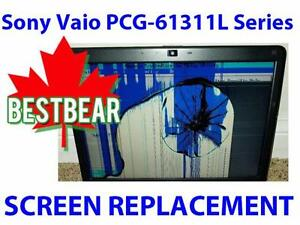 Screen Replacment for Sony Vaio PCG-61311L Series Laptop