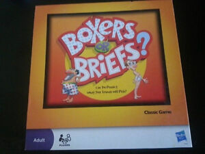 Boxers or Briefs game by Hasbro London Ontario image 1