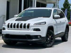 2014 Jeep Cherokee KL MY15 Longitude (4x4) White 9 Speed Automatic Wagon North Lakes Pine Rivers Area Preview