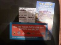 FOUR ALTON TOWERS TICKETS FOR SATURDAY 28TH JULY 2018 ADMITS ADULT OR CHILD
