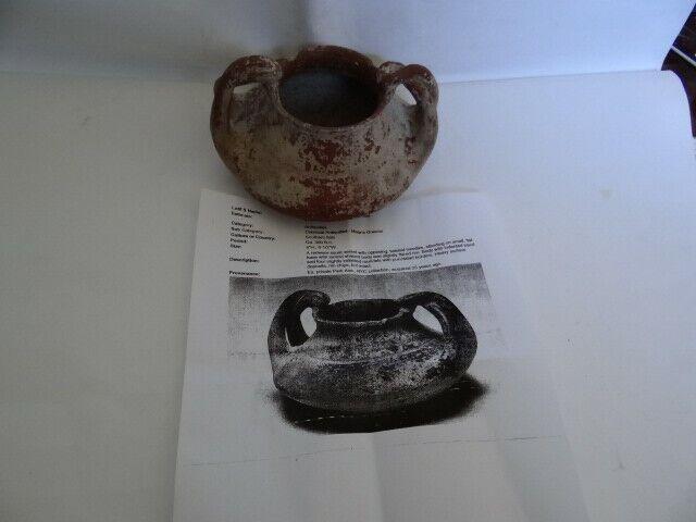 Ancient South Italian Pottery Vessel Ca. 350 B.C. Ex Arte Primitivo New York