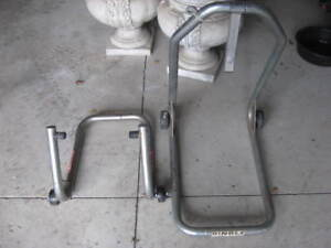 Hindle Racing motorcycle front and rear stands