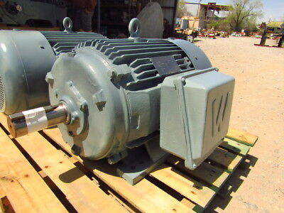 New Old Stock Worldwide Electric 50 Hz. 30 Hp. 1000 Rpm Three Phase Motor
