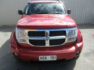 2007 Dodge Nitro KA SXT Maroon 5 Speed Automatic Wagon Windsor Gardens Port Adelaide Area Preview