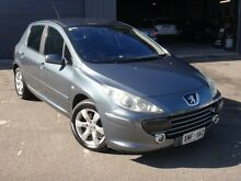 2006 Peugeot 307 MY06 Upgrade XSE HDI 2.0 Blue 6 Speed Manual Hatchback Albert Park Charles Sturt Area Preview