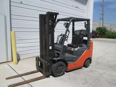 Toyota 5000 Cap. Forklift 189 Lift Lpg Warehouse Lift Rent Ready