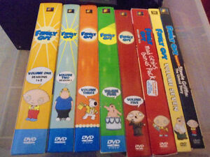 Family Guy collection set near mint like new!