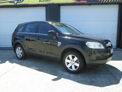 2006 Holden Captiva CX Black 5 Speed Auto Active Select Wagon O'Connor Fremantle Area Preview