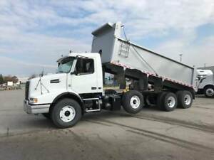 2013 Volvo VHD Triaxle Spiff Dump Full Locks