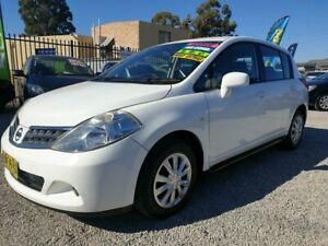 2011 NISSAN TIIDA ST 5D HATCH, AUTO, LOW KMS, BOOKS, MARCH 2020 REGO, WARRANTY, SERVICED! Penrith Penrith Area Preview