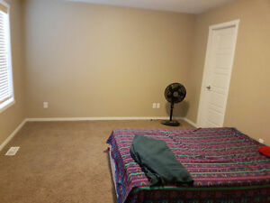 Master bedroom available now