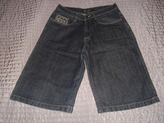 Tolle Herren Skater Jeans Hose Gr. 32 Blau Jean John