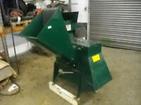 Globe PTO wood chipper / mulcher
