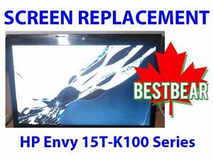 Screen Replacment for HP Envy 15T-K100 Series Laptop