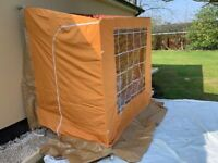 Retro Canvas Porch Awning For Caravan Or High Side Van Brand new Unused