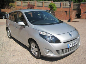 2010 60 Renault GRD SCENIC DY-IQUE T-T DC 1.5 7 SEATER MPV