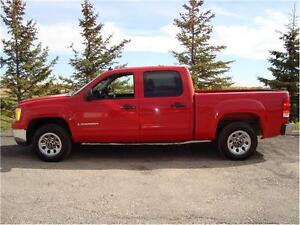 2008 GMC 1500 SLE CREWCAB SHORTBOX 2-WD 4.8L 280K ONLY $7,350..