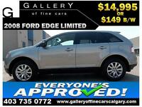 2008 Ford Edge LIMITED AWD $149 bi-weekly APPLY NOW DRIVE NOW