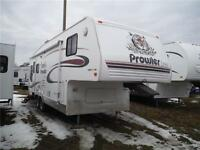 2005 Prowler Lynx 827 5S 5th Wheel Trailer with Slideout