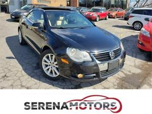 VOLKSWAGEN EOS CONVERTIBLE | MANUAL 6 SPEED | LEATHER | TURBO