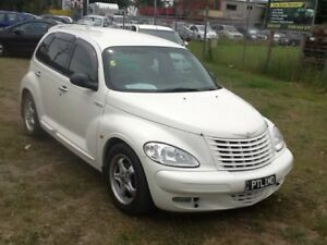 2001 Chrysler PT Cruiser PT Classic White 4 Speed Automatic Wagon