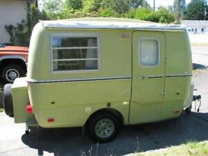 1977 Trillium Trailer holiday rental on Vancouver Island