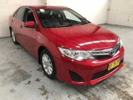 2014 Toyota Camry AVV50R Hybrid H Wildfire Continuous Variable Sedan Gateshead Lake Macquarie Area Preview