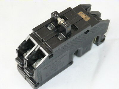 Zinsco Qc20 Type Qc 2p 20a 120240v Circuit Breaker Used 1yr Warranty