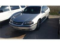 2003 CHEVY IMPALA  LEATHER / AS TRADED IN