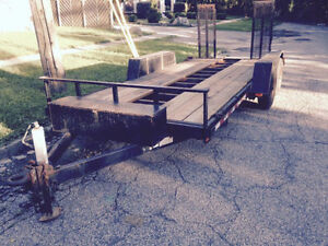 "80"" by 16 foot car trailer"