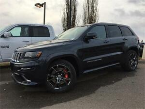2016 JEEP GRAND CHEROKEE SRT8 DEMO ONLY 7500 KMS !! 16GH0725