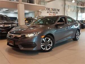 2016 Honda Civic Sedan LX-AUTO-CAMERA-HEATED SEATS-ONLY 64KM