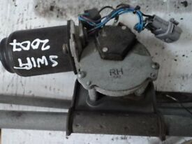 SUZUKI SWIFT 2005-2009 FRONT WIPER MOTOR & LINKAGE ***OTHER PARTS AVAILABLE***