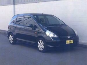 2007 Honda Jazz GD GLi Black Constant Variable Hatchback
