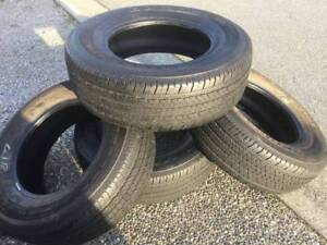 BRIDGESTONE DUELLER HT P255/70R17 @80% - $220 (NORTH SURREY)