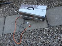 GAS SPACE HEATER FOR SPARES OR REPAIR - CAN BE SEEN WORKING - NO TEXTS