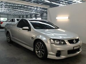 2012 Holden Commodore VE II MY12 SS-V Silver 6 Speed Automatic Utility Beresfield Newcastle Area Preview