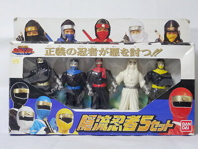 Kakureryu Ninjya 5 set Figure Ninja Sentai Kakuranger BANDAI Power Rangers for sale  Shipping to United States