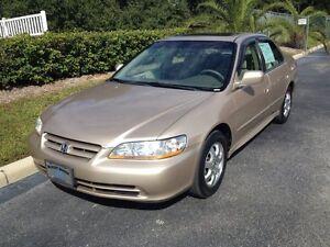 2001 Honda Accord EX-L Sedan