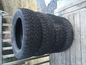 Four 205/55R16 Winter Tires