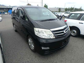 FRESH IMPORT FULLY LOADED 2006 TOYOTA ALPHARD 3.0 MZ G EDITION BLACK