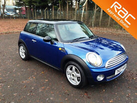2007.07.MINI COOPER 1.6 CHILI.THREE DOOR.METALLIC BLUE.