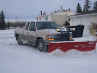 Edmonton area: Commercial / Residential Snow Removal Services