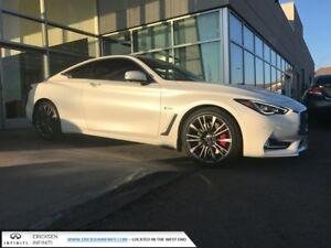 2017 Infiniti Q60 3.0t Red Sport 400HP/TECH/LANE DEPARTURE/BLIND